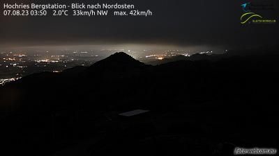 Webcam Hochries Gipfel Oststartplatz