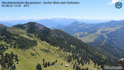 Wendelstein Webcam Süd-Ost